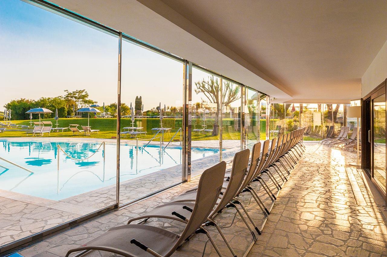 Piscine termali siena la villa di str - Terme euganee piscine ...